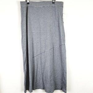 Sonoma petite size grey maxi skirt